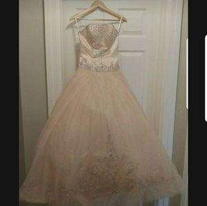 Dresses & Skirts - Stunning Peach Gown!